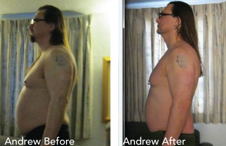 HCG Results Andrew Before & After Photos