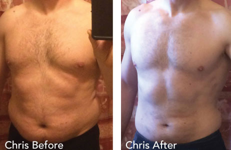 Chris Before and After Photos