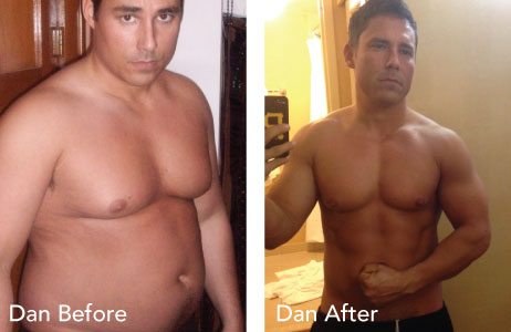 HCG before and after photos Dan