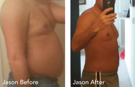 HCG Results Jason Before & After Photos