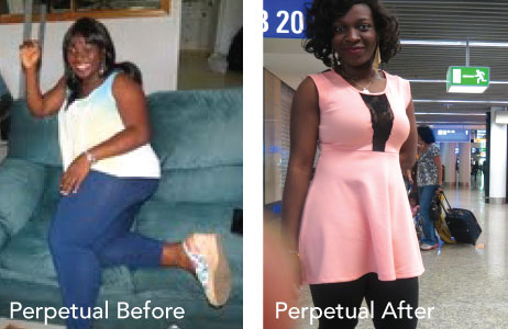 HCG before and after photos perpetual