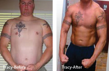 HCG Results Tracy Before & After Photo