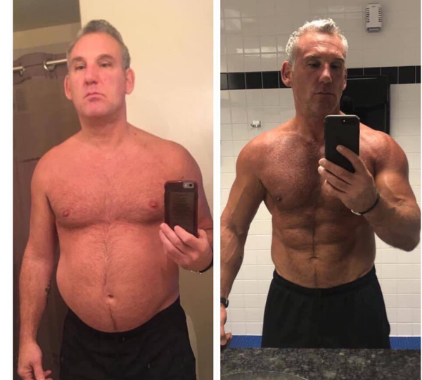 HGH and HCG Body Makeover for Men