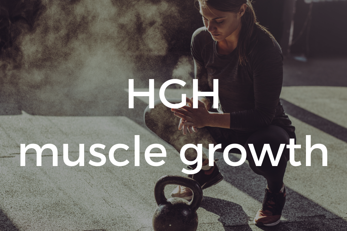 HGH muscle growth and toning