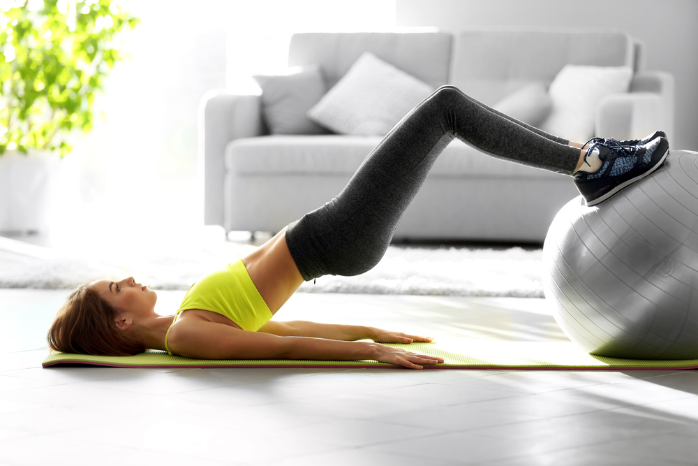 workout home fitness exercise