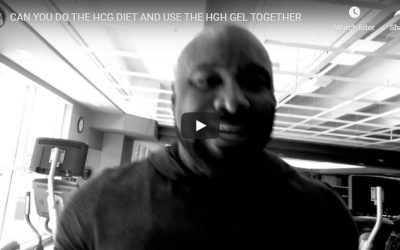 CAN YOU DO THE HCG DIET AND USE THE HGH GEL TOGETHER
