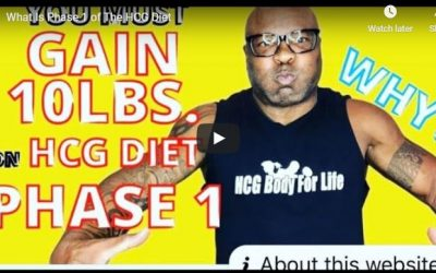 What Is Phase 1 of The HCG Diet