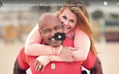 How to Lose 30 Pounds In 30 Days HCG Diet Fat Loss Tips