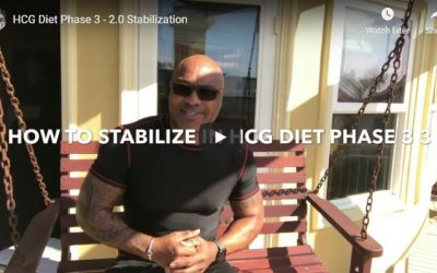 HCG Diet Phase 3 – 2.0 Stabilization