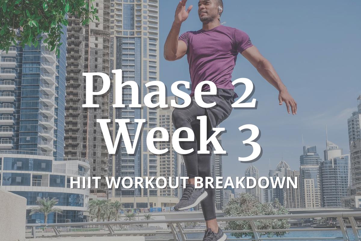 phase 2 week 3