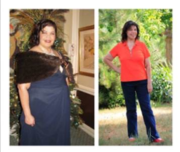 HCG before and after photos shawna