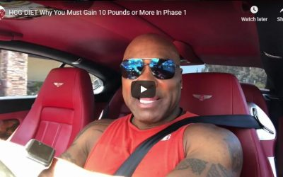 HCG Phase 1: Why You Must Gain Weight